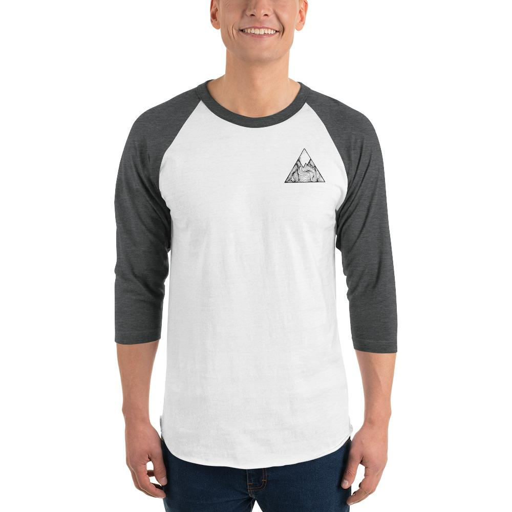 OXYD® 3/4 sleeve raglan shirt