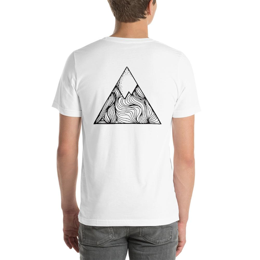 Oxyd Mountain Short-Sleeve Unisex T-Shirt