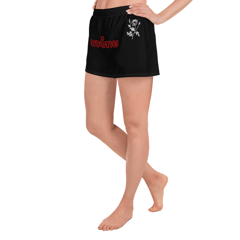 OXYD® Muay Thaï women black athletic shorts