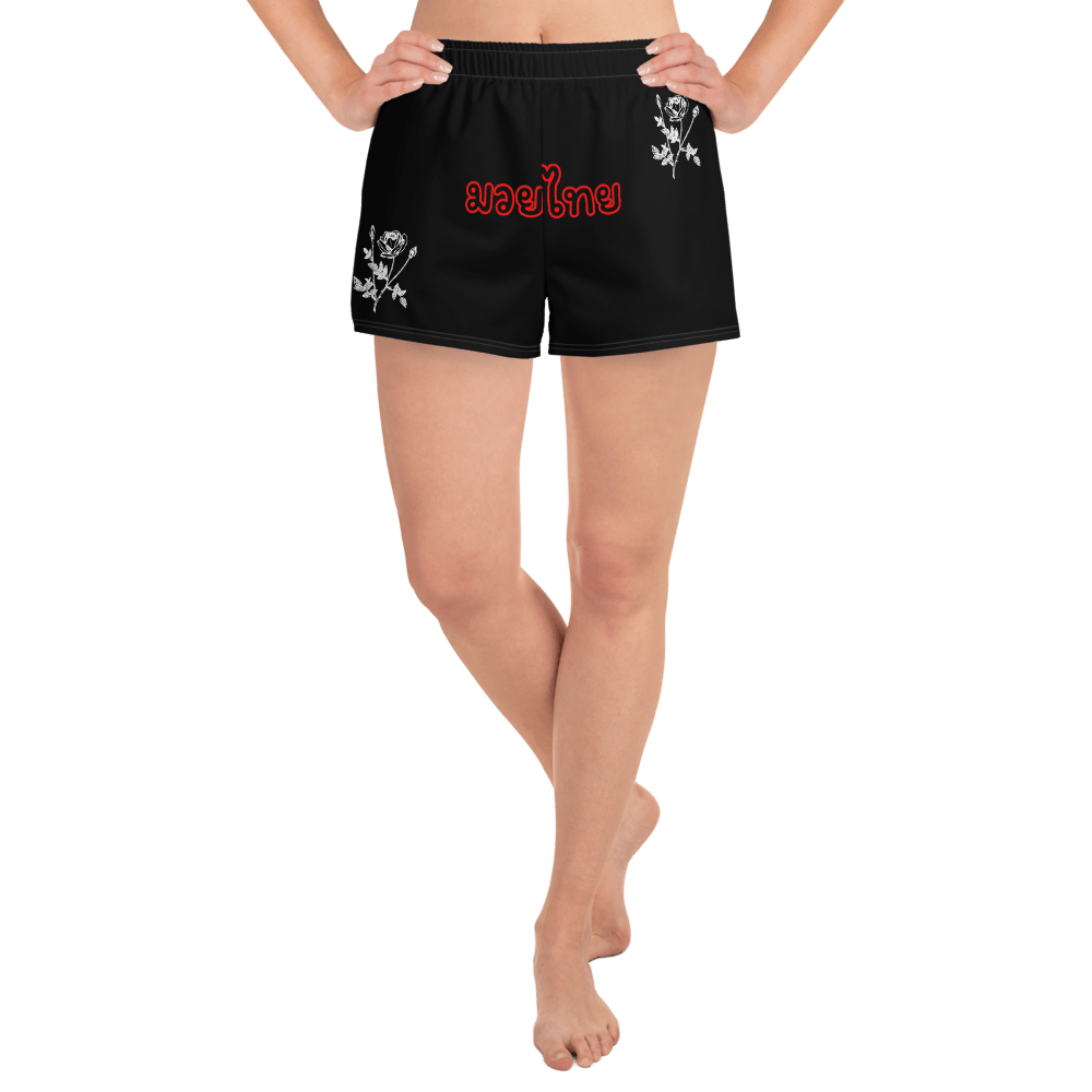 OXYD® Muay Thaï women black athletic shorts