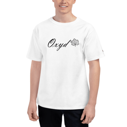 OXYD® Leaf White Champion® T-Shirt