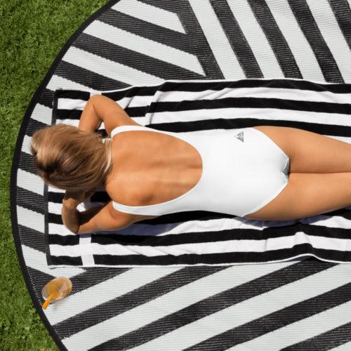 OXYD® One-Piece low Scoop Back Swimsuit