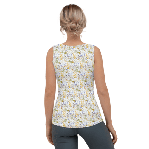 Oxyd Liby Yellow Tank Top