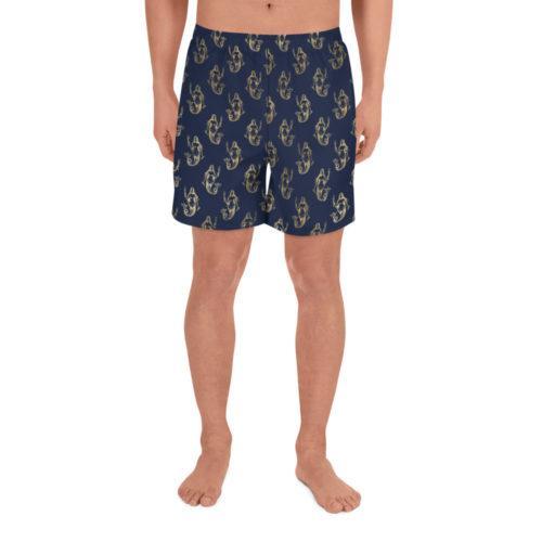 Mermaid Athletic Long Shorts