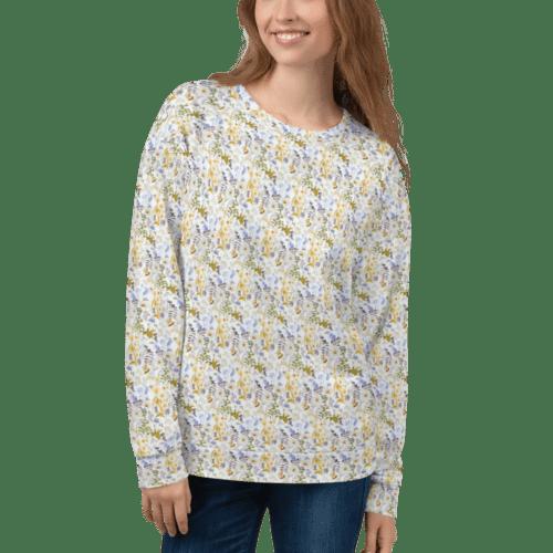 Oxyd Liby Yellow Unisex Sweatshirt