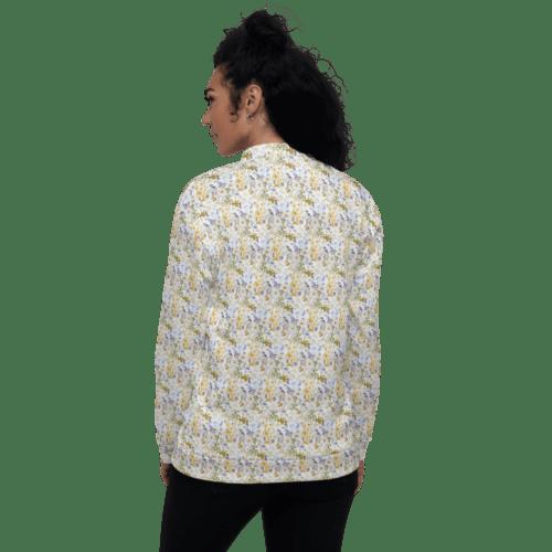 Oxyd Liby Yellow Unisex Bomber Jacket