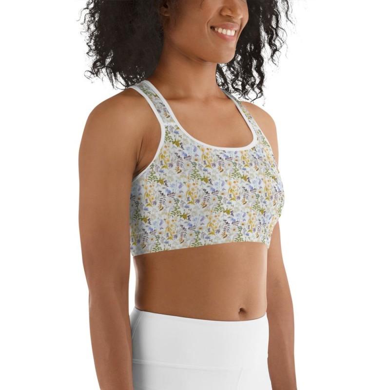 Oxyd Liby Yellow Sports bra