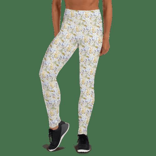 Oxyd Liby Yellow Yoga Leggings