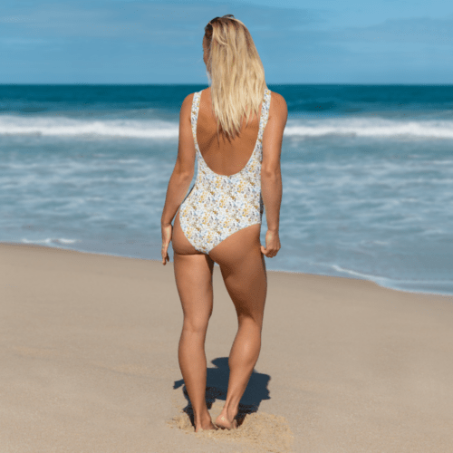 Oxyd Liby Yellow One-Piece Swimsuit