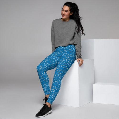 French Blue Sizzle NY 2021 Women's Joggers