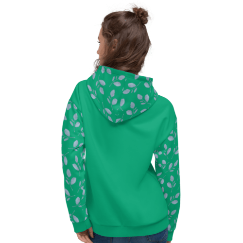 Mint Blue Branch NY 2021 Unisex Hoodie