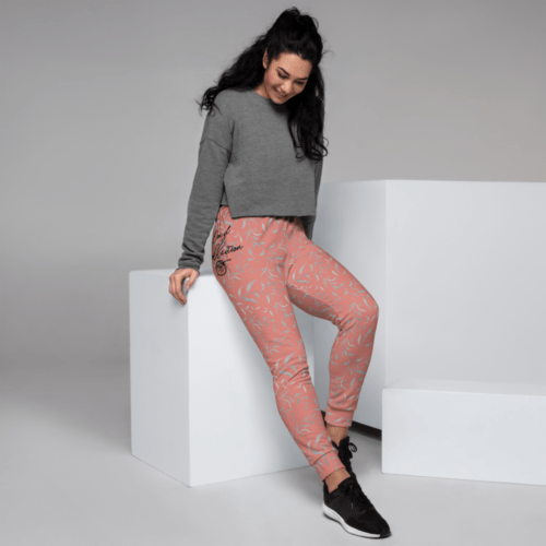 Burnt Coral Sizzle NY 2021 Women's Joggers